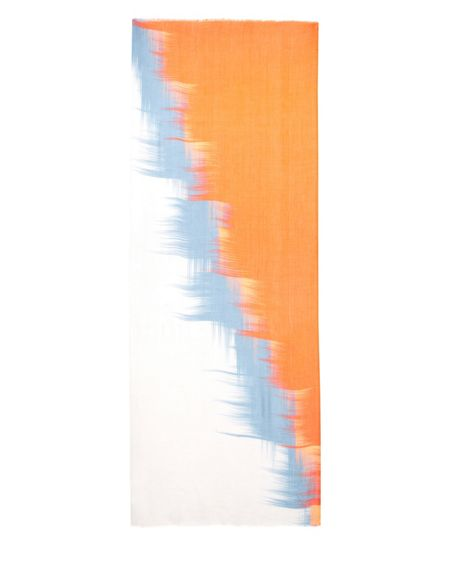 Jaeger Abstract Block Print Scarf