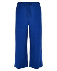 Jaeger Linen Cropped Trousers