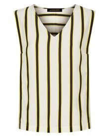 Jaeger Bi-Colour Striped Top