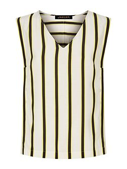 Bi-Colour Striped Top