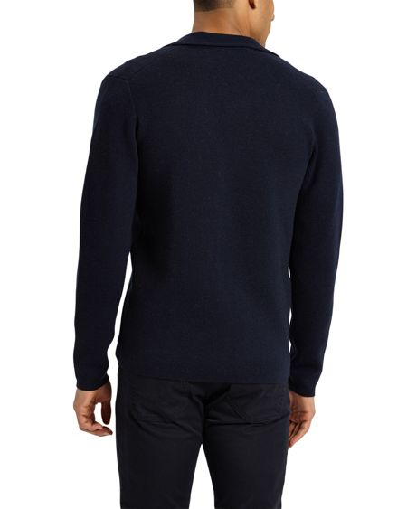 Jaeger Double-Faced Knitted Blazer