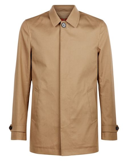 Jaeger Bonded Cotton Mac