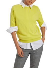 Jaeger Cashmere Slouchy Top