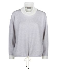 Jaeger Double-Faced Wool Sweater