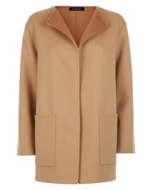 Jaeger Reversible Double-Face Coat