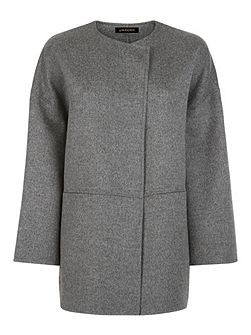 Double Faced Wool Cape