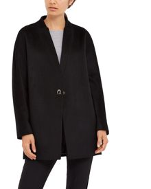 Jaeger Wool Turn Back Lapel Coat