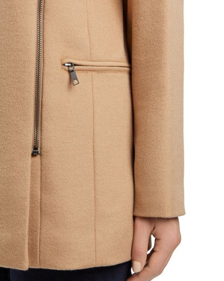 Jaeger Wool Zip Detail Coat
