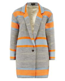 Jaeger Block Striped Blazer