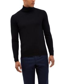 Jaeger Merino Wool Roll Neck Sweater