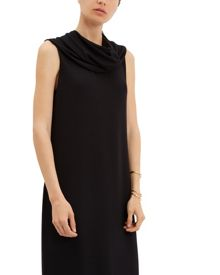 Jaeger Jersey Cowl Neck Dress