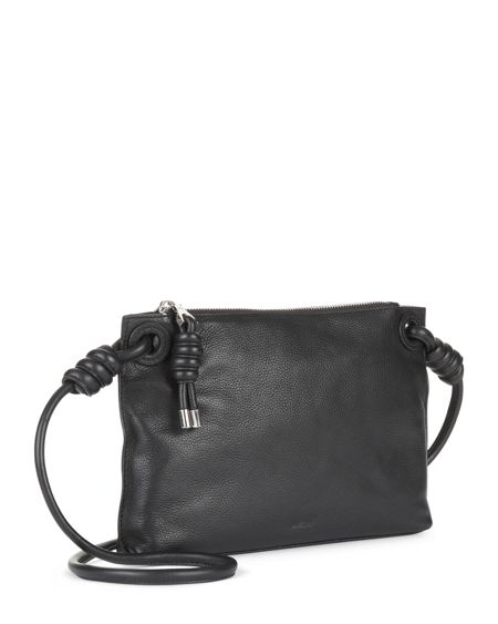 Jaeger Leather Knot Cross Body Bag