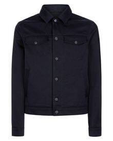 Jaeger Cotton Twill Short Jacket