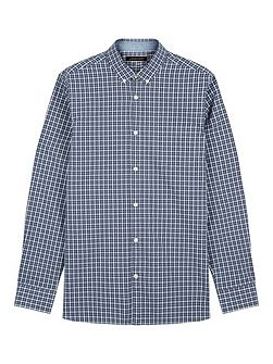 Mélange Check Shirt