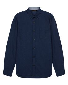 Jaeger Pinstripe Pocket Shirt