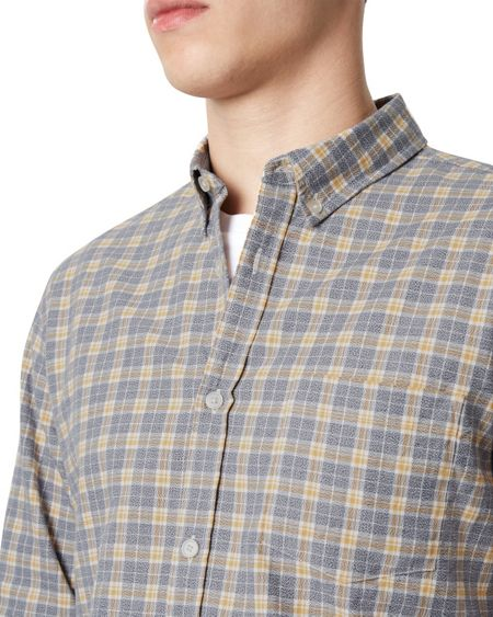 Jaeger Mouliné Large Check Shirt