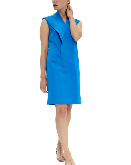 Jaeger Cotton Frill Day Dress