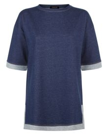 Jaeger Denim Jersey Tunic