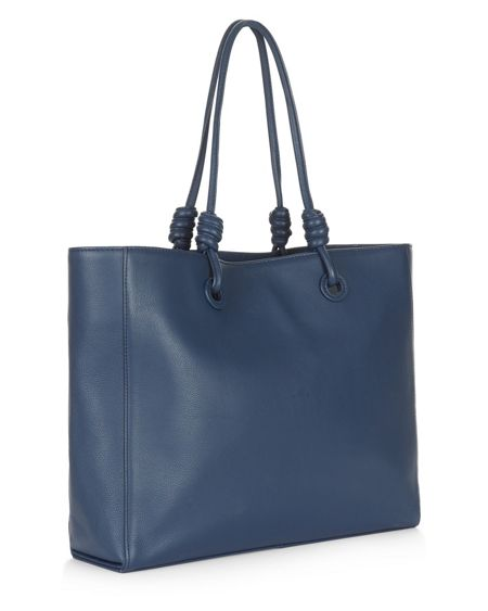 Jaeger Leather Knot Oversized Tote