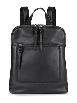 Leather Oxford Backpack