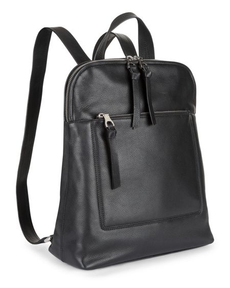 Jaeger Leather Oxford Backpack