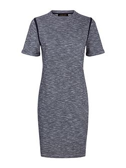 Tipping Detail T-Shirt Dress