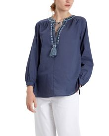 Jaeger Embroidery Boho Blouse