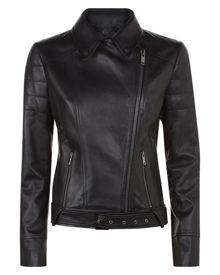 Jaeger Leather Biker Jacket