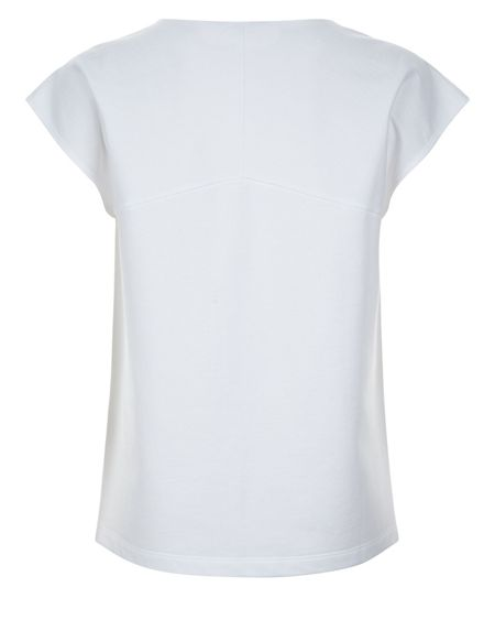 Jaeger Jersey Textured Block T-Shirt