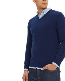 Jaeger Cashmere V-Neck Sweater