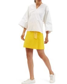 Jaeger Casual Belted Skirt