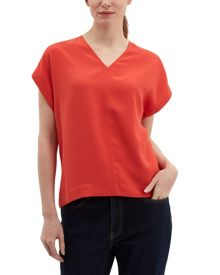 Jaeger Essential Crepe V-Neck Top