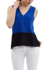 Jaeger Colour Block Vest Top