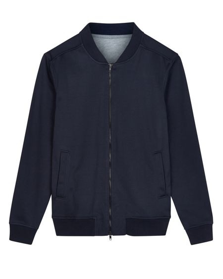 Jaeger Double-Faced Zip-Up Bomber