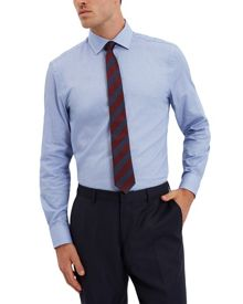 Jaeger Cotton Birdseye Regular Shirt