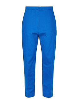 Patch Pocket Cropped Trousers