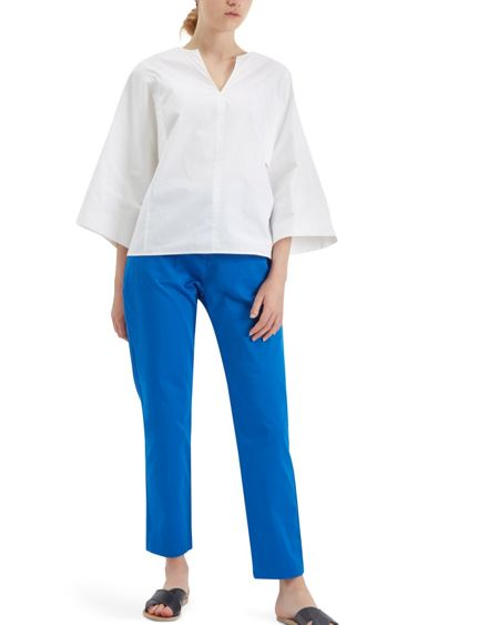 Jaeger Patch Pocket Cropped Trousers
