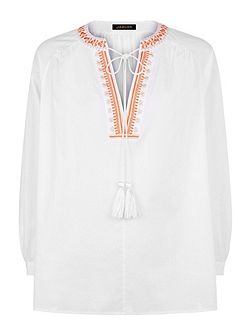 Embroidery Boho Blouse