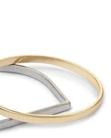 Jaeger Oval and D-shape Bangle Set