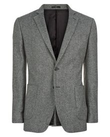 Jaeger Salt-and-Pepper Slim Jacket