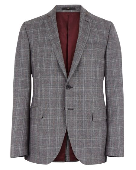 Jaeger Prince of Wales Slim Jacket