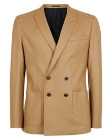 Jaeger Wool Camel Slim Jacket