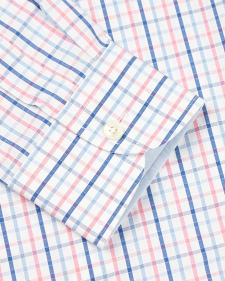 Jaeger Bright Check Regular Shirt