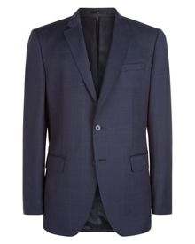 Jaeger Wool Windowpane Regular Jacket