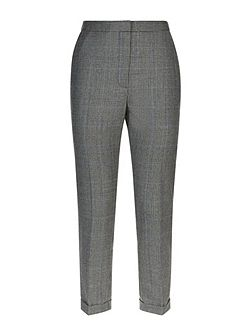 Wool Prince of Wales Trousers