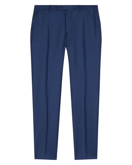 Jaeger Wool Basketweave Slim Trousers
