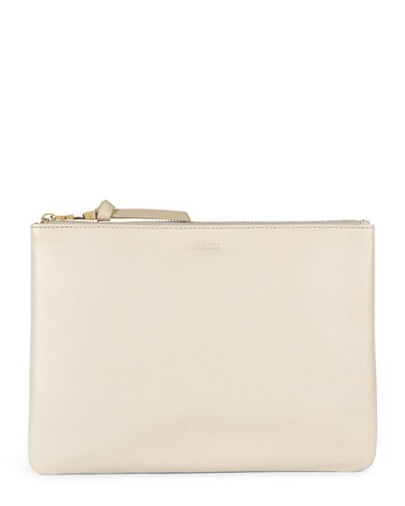 Jaeger Large Leather Cooper Clutch
