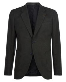 Jaeger Brushed Cotton Slim Jacket