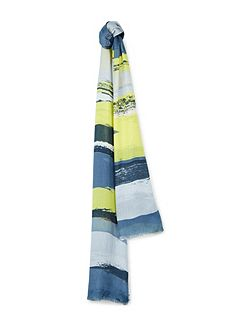 Highlight Painted Print Scarf