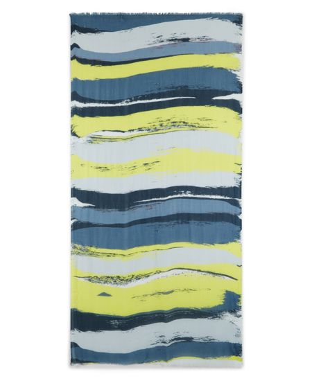 Jaeger Highlight Painted Print Scarf